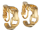 LAUREN Ralph Lauren - Equestrian Small Double Stirrup Clip Earring (Gold)