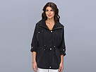 Cole Haan - Dolman Sleeve Rain Jacket (Black) - Apparel