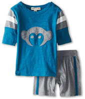 Appaman Kids - Super Soft Retro Hockey Jersey and Track Short Set (Infant)