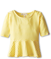 Appaman Kids - Retro Cool Striped Peplum Tee (Toddler/Little Kids/Big Kids)