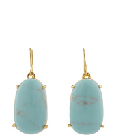 LAUREN by Ralph Lauren - Palm Beach Oval Faceted Stone Drop Earring