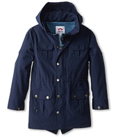 Appaman Kids - Cotton Lined Wiley Raincoat w/ Stowe Away Hood (Toddler/Little Kids/Big Kids)
