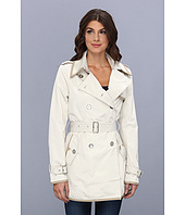 Sam Edelman - Contrast Trim Cotton Trench