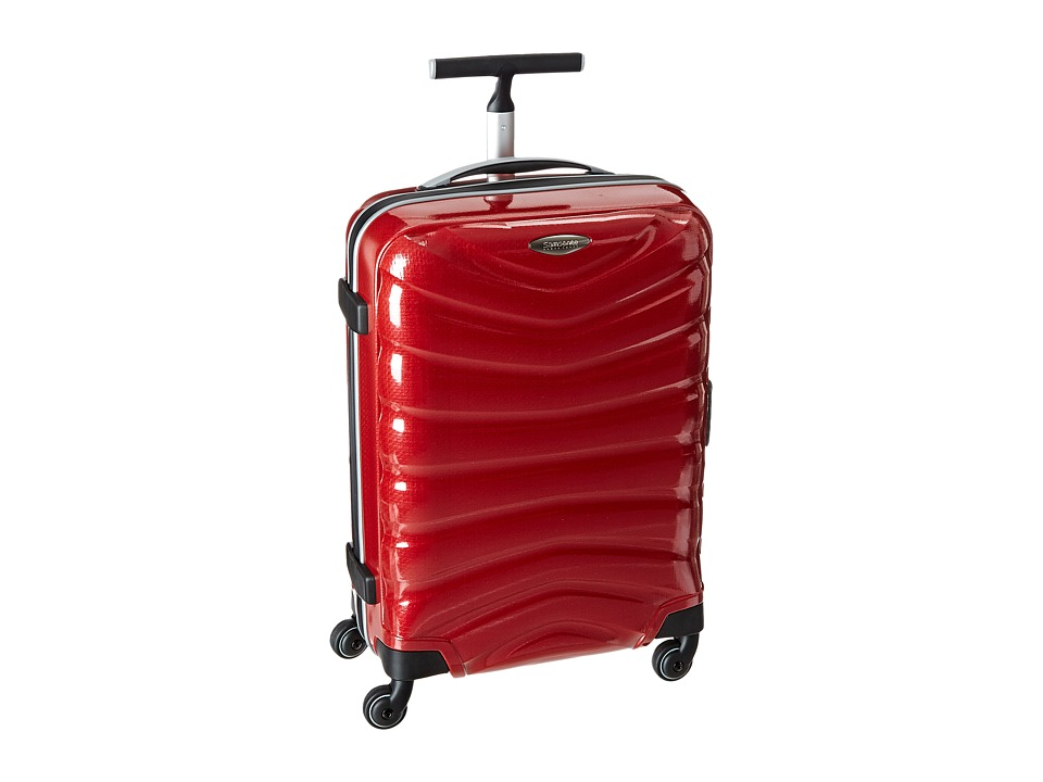 Samsonite Firelite Black Label 20 Spinner Chili Red Luggage