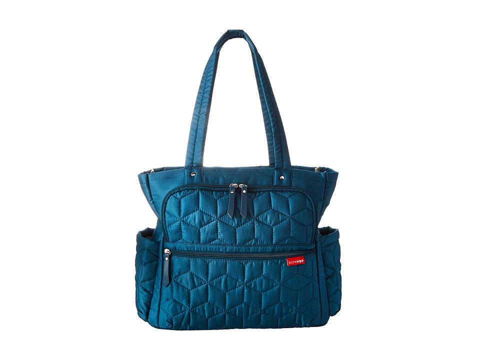Skip Hop - Forma Pack Go Diaper Tote (Blue) Tote Handbags