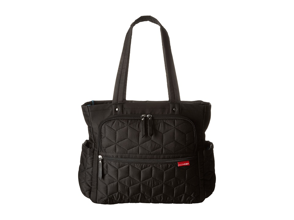 Skip Hop - Forma Pack Go Diaper Tote (Black) Tote Handbags