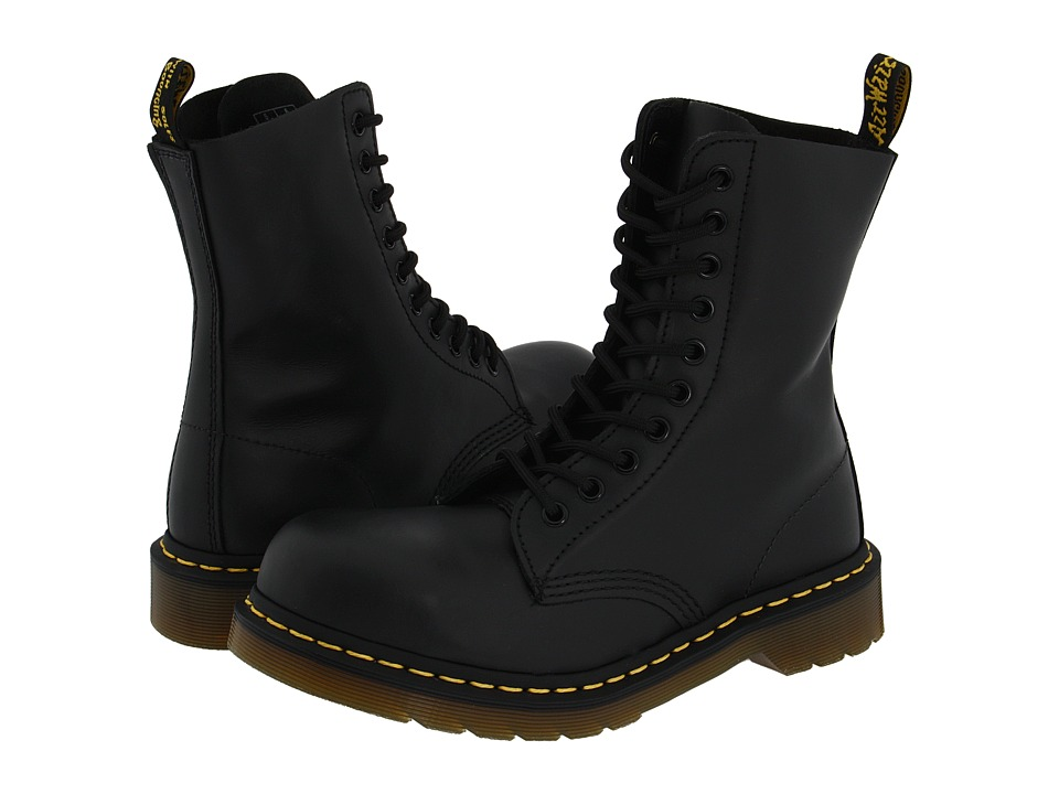 Dr. Martens - 1919 (Black Fine Haircell) Boots