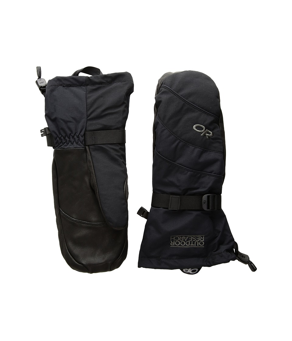 Outdoor Research Highcamp Mitts (Black) Over-Mits Gloves