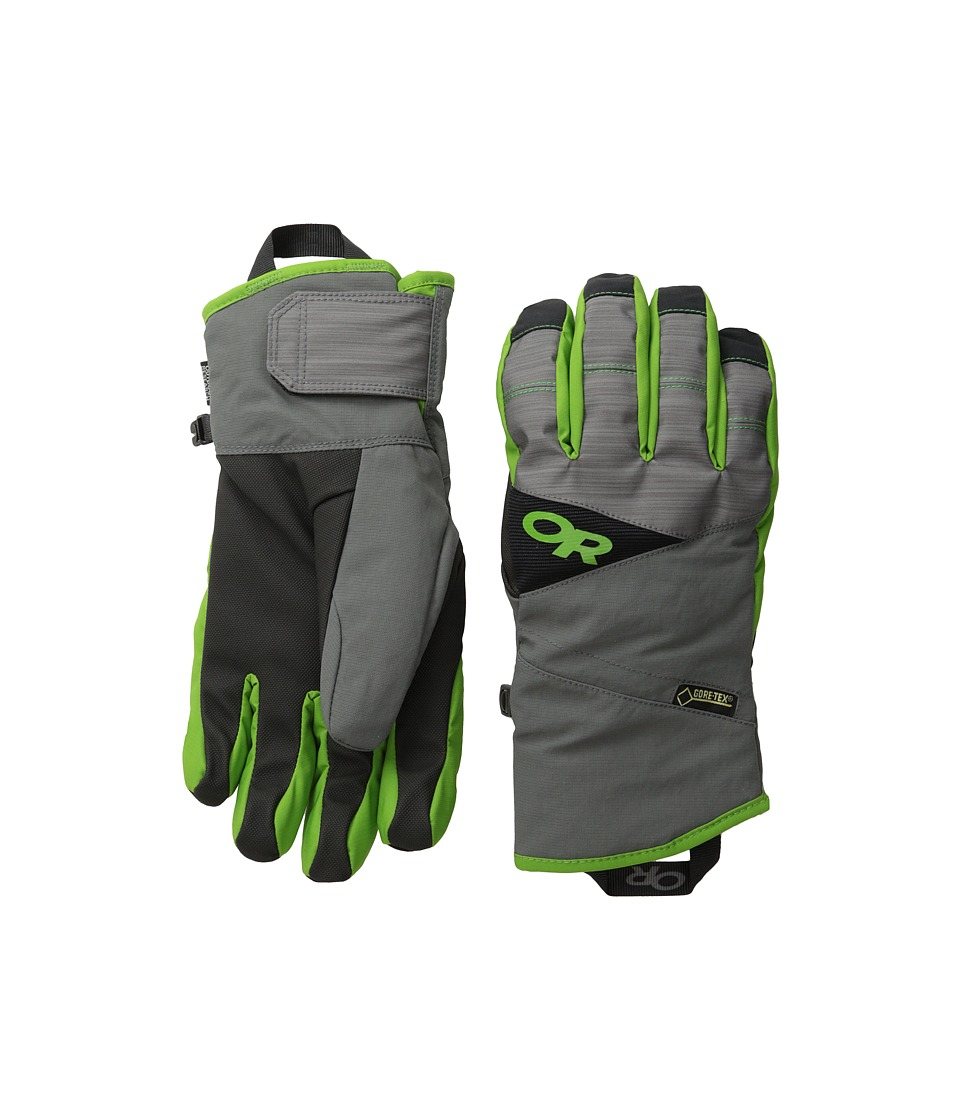 Outdoor Research Centurion Gloves (Charcoal/Flash) Extreme Cold Weather Gloves