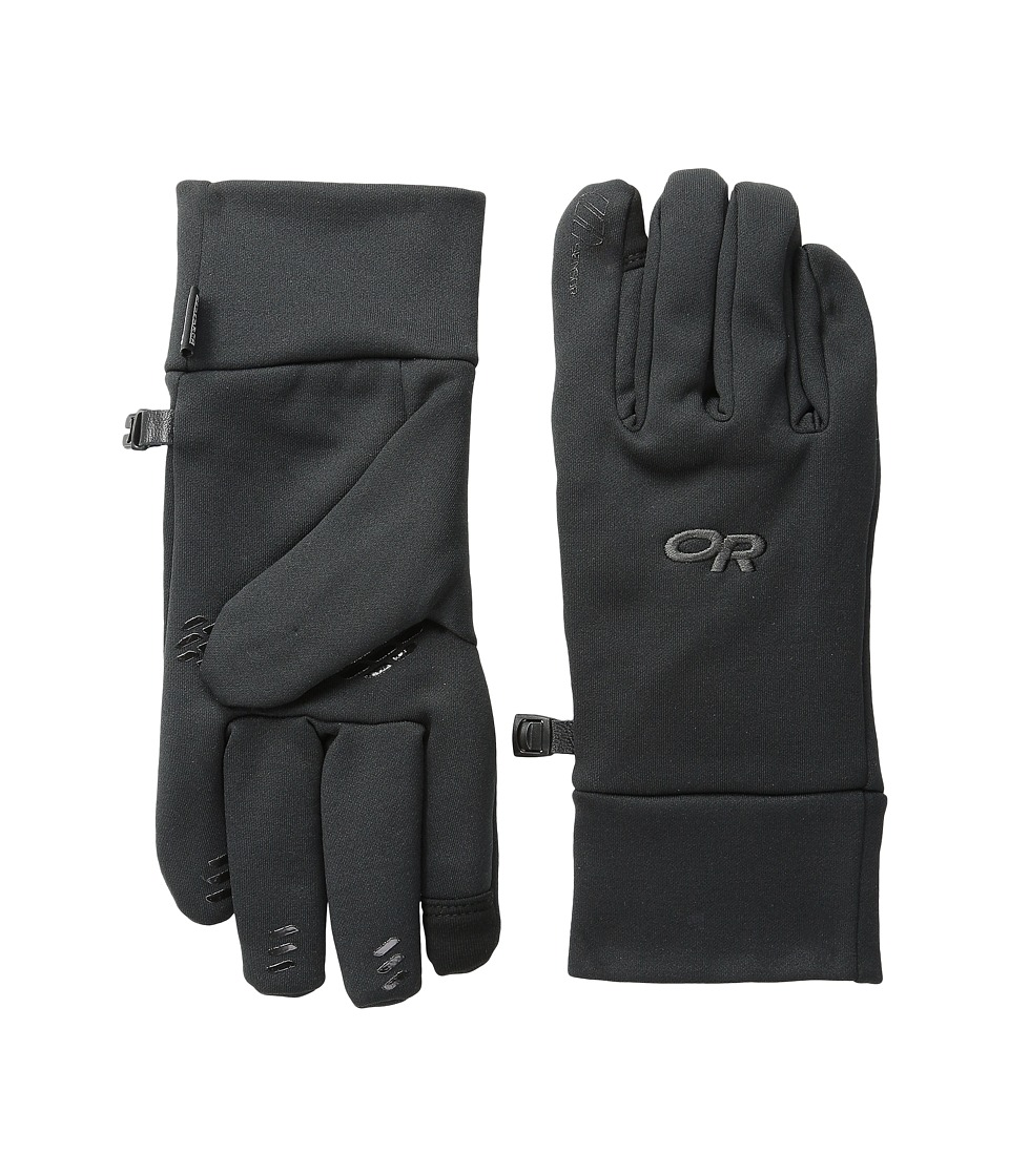 Outdoor Research Pl 400 Sensor Gloves (Black) Extreme Cold Weather Gloves