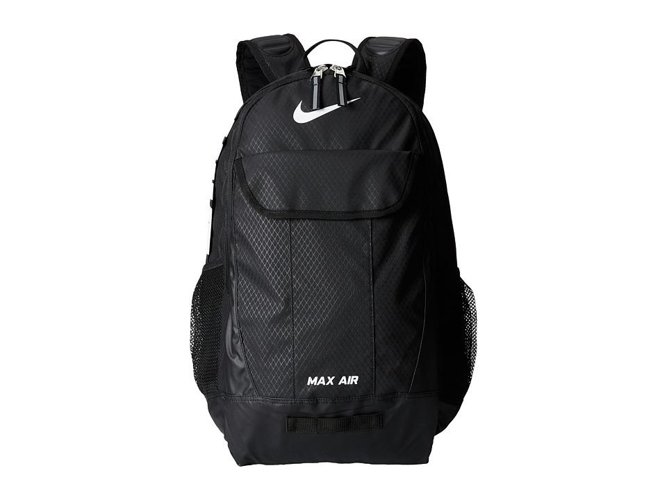 Nike - Team Training Max Air XL Backpack (Black/Black/White FA14) Backpack Bags