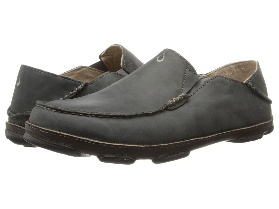 OluKai - Moloa (Black Olive/Seal Brown) Men