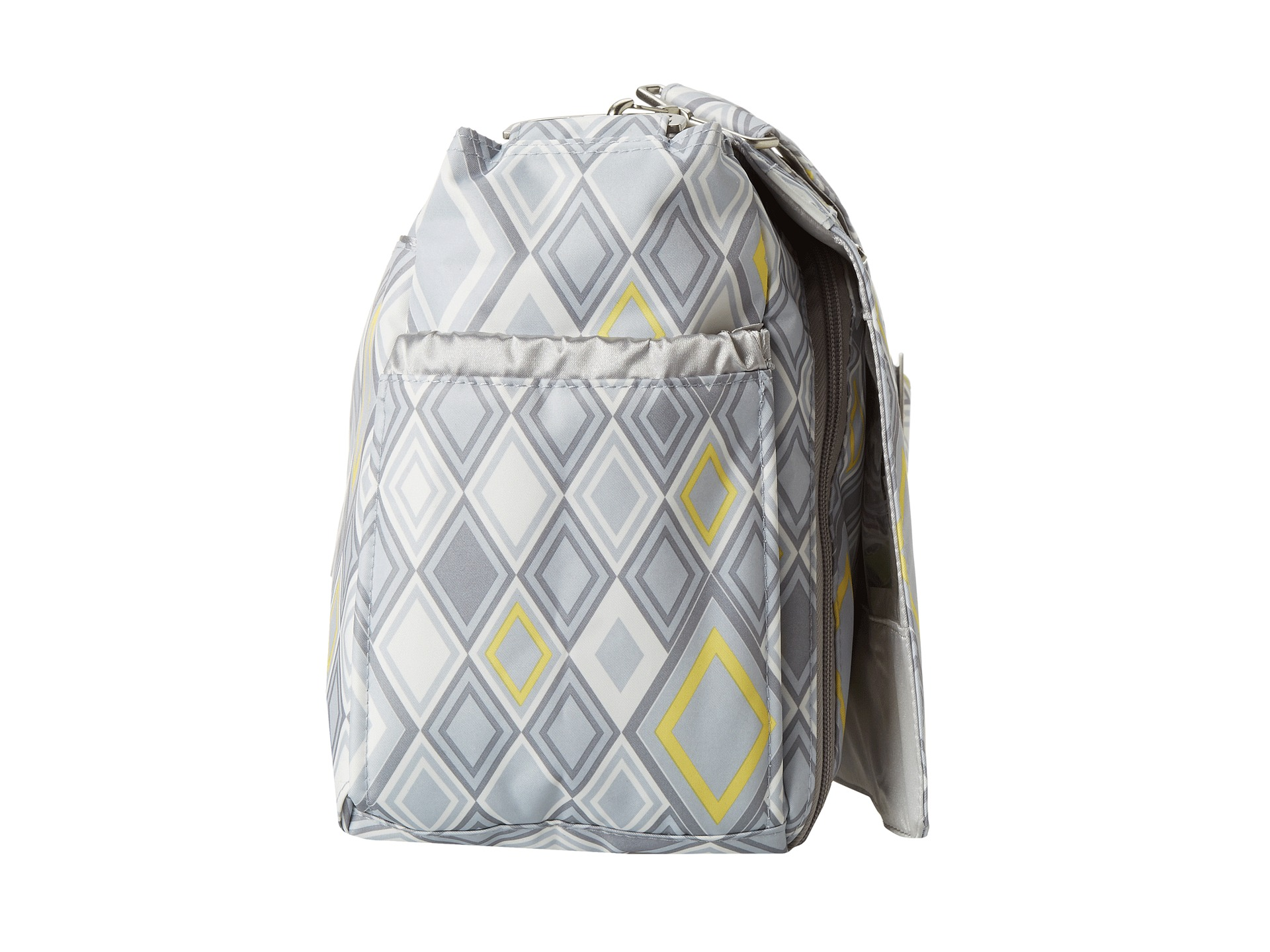 ju ju be better be messenger diaper bag with insulated bottle pockets and 4 zippered shipped. Black Bedroom Furniture Sets. Home Design Ideas