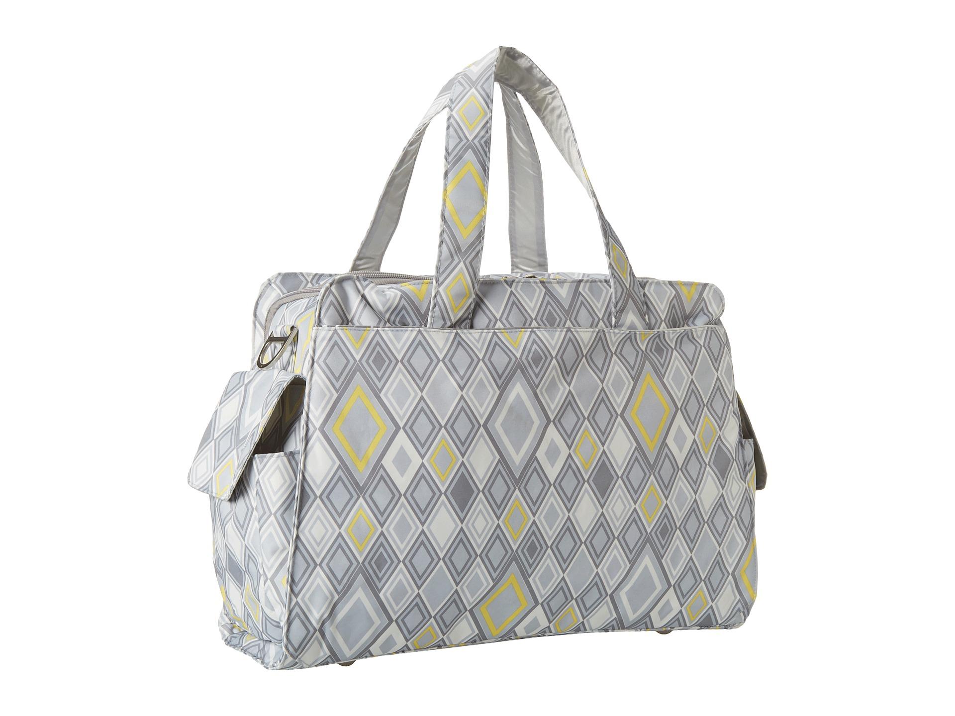 ju ju be be prepared messenger diaper bag with insulated bottle pockets and 3 zippered pockets. Black Bedroom Furniture Sets. Home Design Ideas