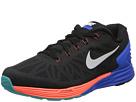 Nike Lunarglide 6 (Black/Hyper Cobalt/Bright Mango/White)