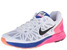 Nike Lunarglide 6 (White/Hyper Pink/Hyper Cobalt/Black)