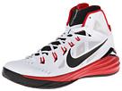 Nike Hyperdunk 2014 (White/University Red/Black) Men's Basketball Shoes