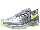 Nike - Fingertrap Max (Cool Grey/Metallic Cool Grey/Pure Platinum/Volt)