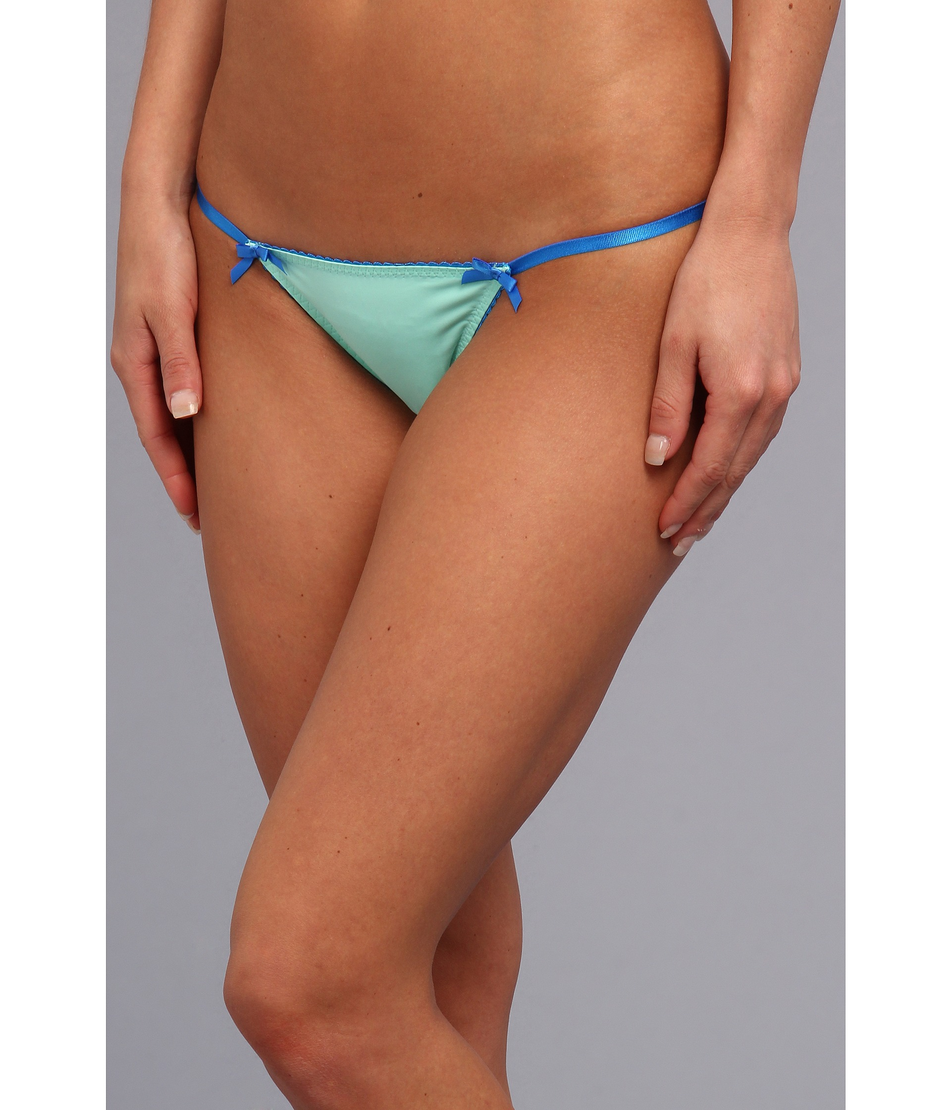 Absolutely not microfiber string bikini panties