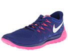 Nike - Nike Free 5.0 '14 (Deep Royal Blue/Hyper Pink/Bright Mango/White)
