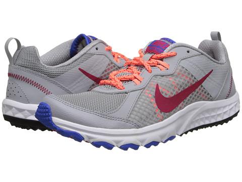 Nike Wild Trail (Wolf Grey/Bright Mango/Hyper Cobalt/Fuchsia Force) Women's Running Shoes