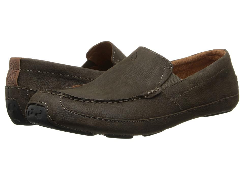 OluKai - Akepa Moc (Seal Brown/Seal Brown) Men