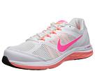 Nike Dual Fusion Run 3 (White/Wolf Grey/Bright Mango/Hyper Pink)