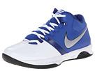 Nike Air Visi Pro V (White/Game Royal/Deep Royal Blue/Metallic Silver)