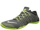 Nike - Free 1.0 Cross Bionic (Medium Ash/Volt/Light Ash/Light Ash Grey)
