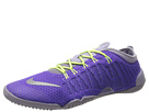 Nike - Free 1.0 Cross Bionic (Hyper Grap/Purple Steel/Dark Raisin/Metallic Silver)