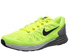 Nike LunarGlide 6 (Volt/ Pure Platinum/Cool Grey/Black) Men's Running Shoes