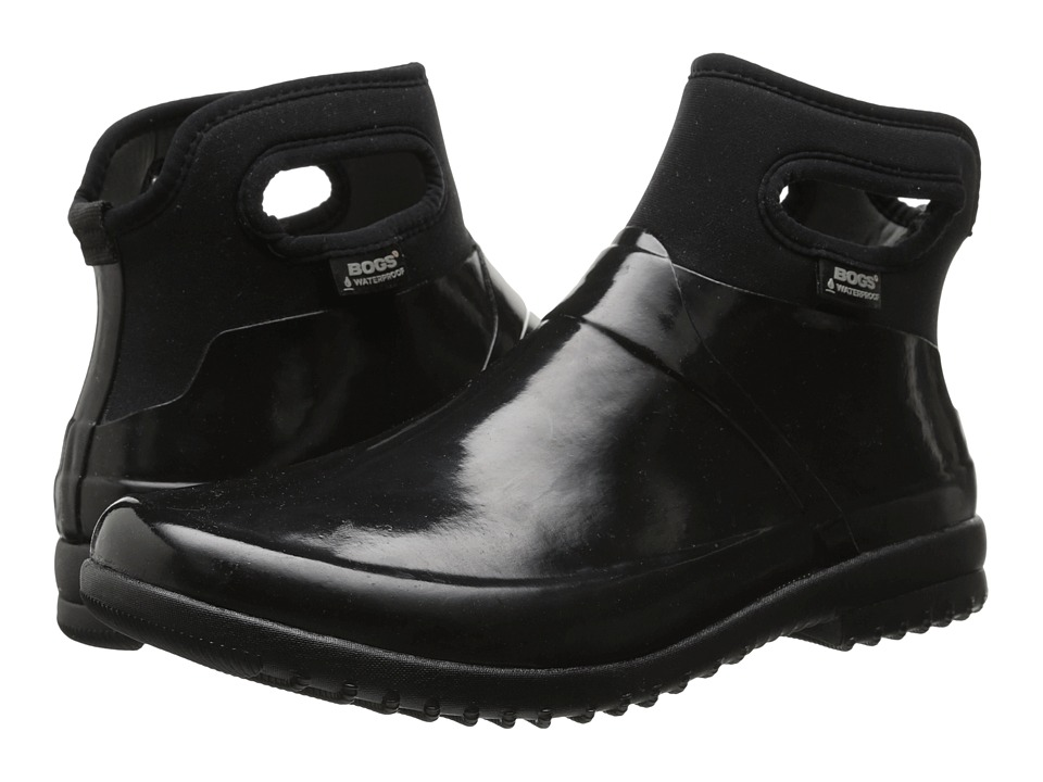 Bogs Seattle Solid Mid (Black) Women