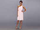 Donna Morgan Rhea One-Shoulder Dress (Petal)