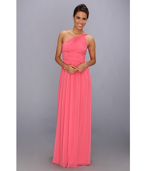 Donna Morgan One Shoulder Strapless Gown - Rachel