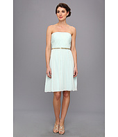 Donna Morgan - Donna Strapless Belted Chiffon Dress