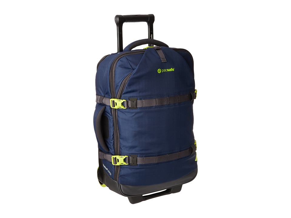 Pacsafe - Toursafe EXP21 Anti Theft Wheeled Carry On (Navy Blue) Carry on Luggage