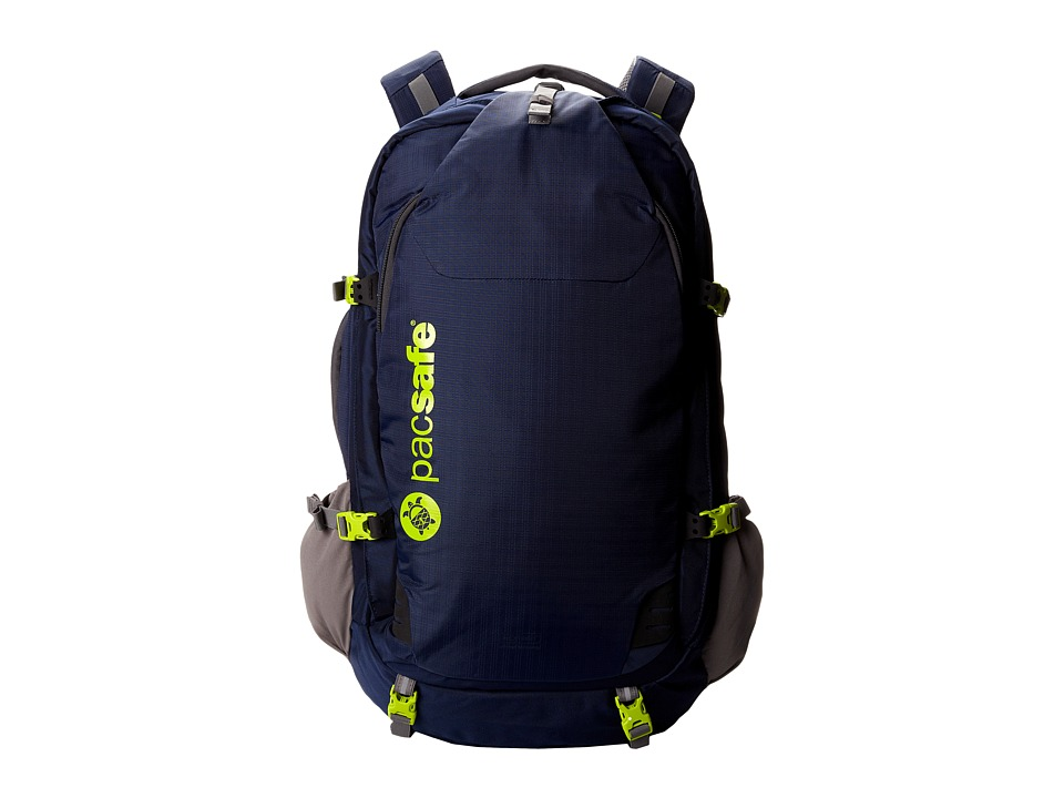 Pacsafe - Venturesafe 55L GII Anti Theft W Travel Pack (Navy Blue) Backpack Bags