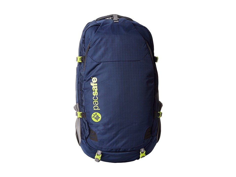 Pacsafe - Venturesafe 65L GII Anti Theft Travel Pack (Navy Blue) Backpack Bags