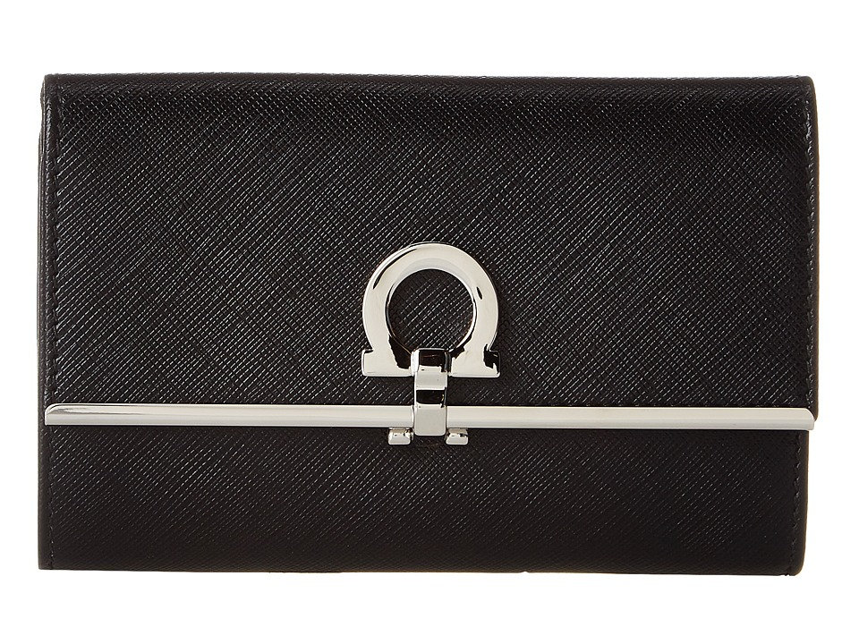 Salvatore Ferragamo - 22C115 (Nero) Wallet Handbags