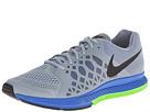 Nike Zoom Pegasus 31 (Magnet Grey/Electric Green/Hyper Cobalt/Black) Men's Running Shoes