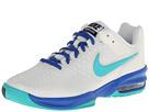 Nike Air Max Cage (Ivory/Hyper Cobalt/Dark Magnet Grey/Hyper Jade) Women's Tennis Shoes
