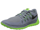 Nike - Nike Free 5.0 '14 (Magnet Grey/Electric Green/Light Magnet Grey/Black)