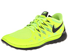 Nike Nike Free 5.0 '14 (Volt/Electric Green/Photo Blue/Black) Men's Running Shoes