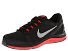 Nike - Dual Fusion Run 3 (Black/Challenge Red/Wolf Grey/Metallic Silver)