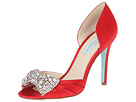 Blue by Betsey Johnson - Gown (Red Satin) - Footwear