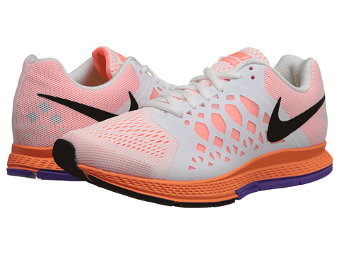 womens nike zoom pegasus 31 orange pink