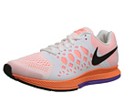 Nike - Zoom Pegasus 31 (White/Bright Mango/Hyper Grape/Black)