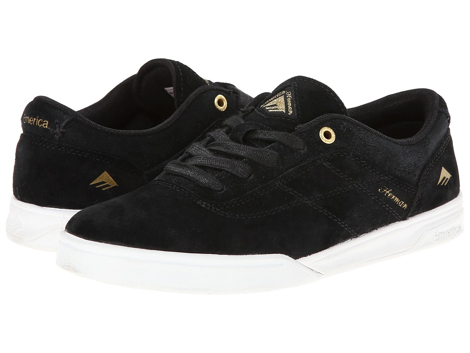 Emerica - The Herman G6 (Black/White/Gold) Men