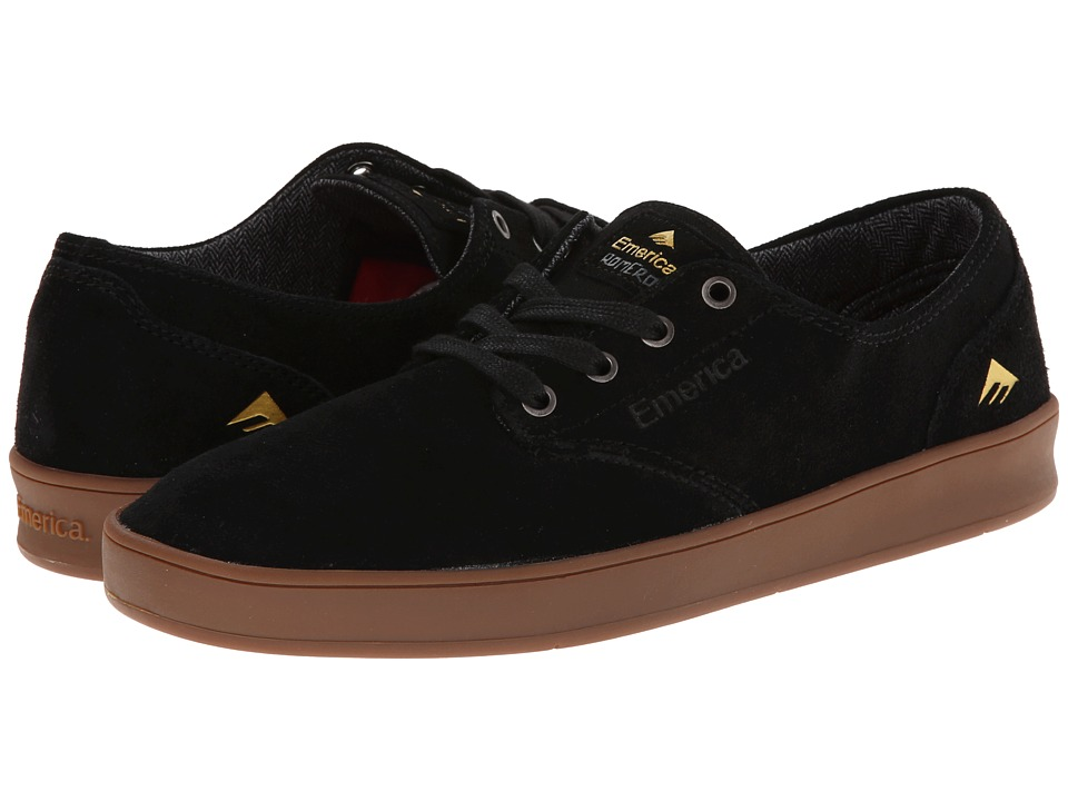 Emerica The Romero Laced (Black/Gum) Men