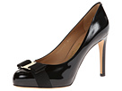 Salvatore Ferragamo Patent Leather Platform Pump